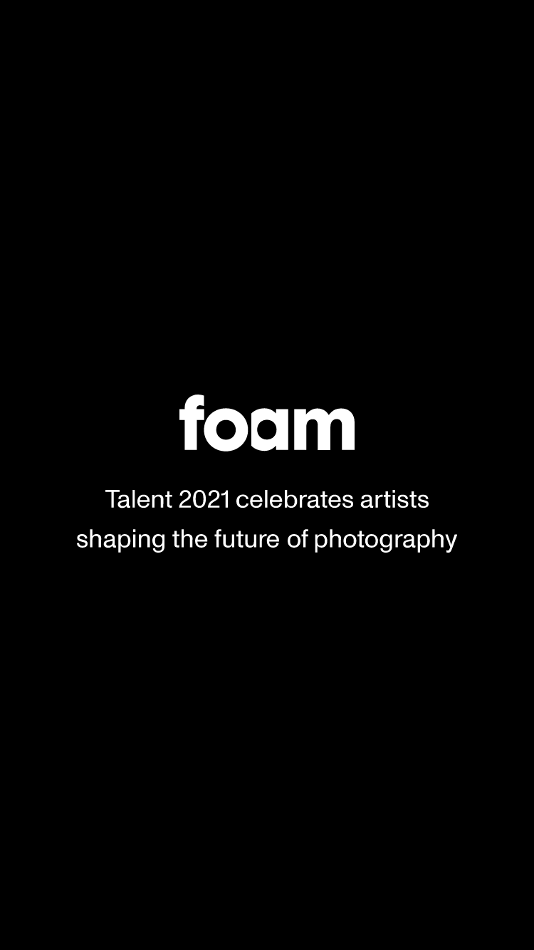 Foam Talent 2021 | Digital exhibition website